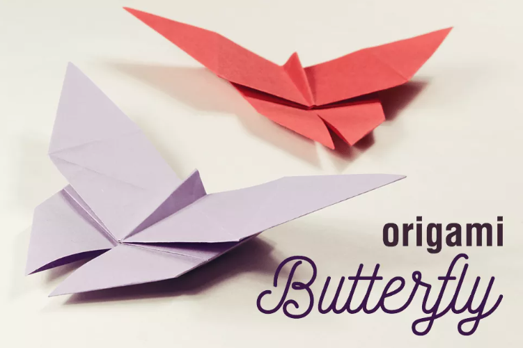 Origami Butterfly Activity